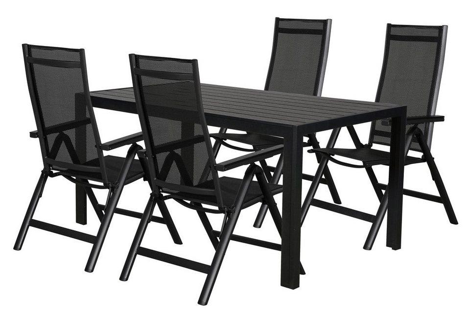 ebuy24 Essgruppe »Cult Gartenmöbel Set 1 Tisch und 4 ...
