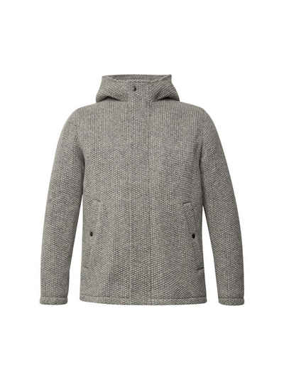 Esprit Steppjacke »Woll-Mix: Outdoor-Jacke in Strick-Optik«