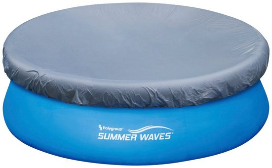 SummerWaves Pool-Abdeckplane, 366 cm Durchmesser