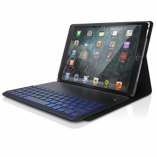 """Aplic Tablet-Hülle (Bluetooth Tastatur inkl. Kunstledercase für iPad Pro 10,5"""" Keyboard mit Apple Layout)"""