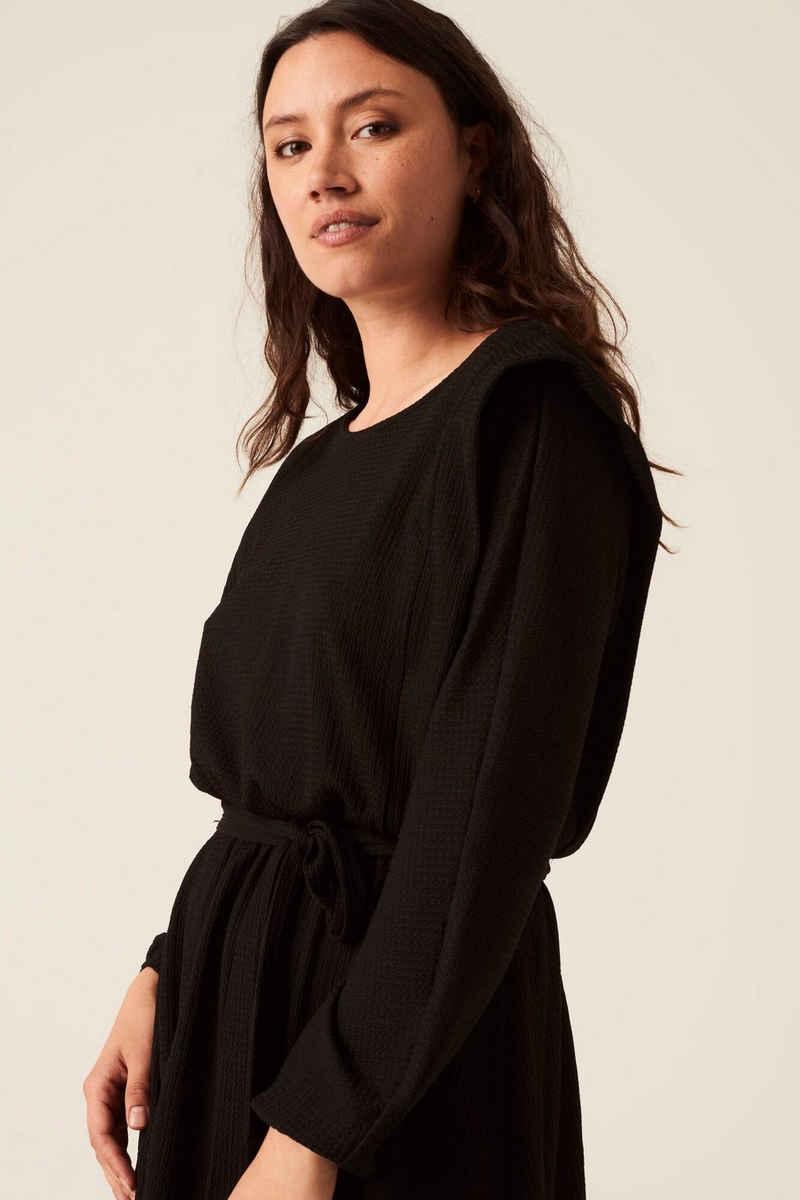 Garcia A-Linien-Kleid »J10285 - 60-black« mit Taillengürtel aus Stoff