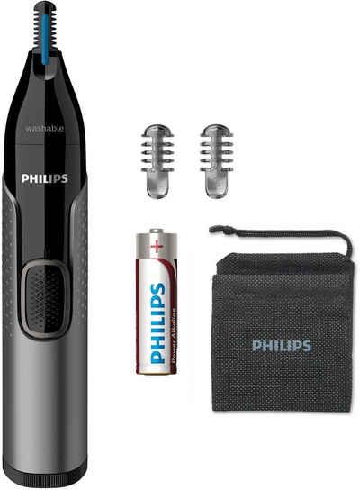 Philips Nasen- und Ohrhaartrimmer NT3650/16, ultimativer Komfort ohne Ziepen