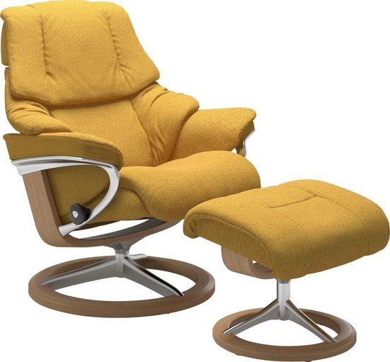 Stressless® Relaxsessel »Reno«, mit Signature Base, Größe S, M & L, Gestell Eiche