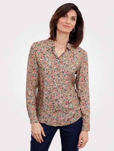 Mona Hemdbluse mit floralem Druck