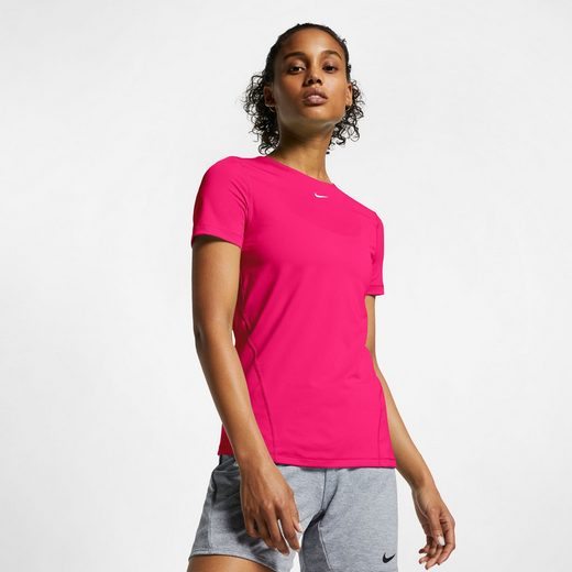 Nike Funktionsshirt »WOMEN NIKE PERFORMANCE TOP SHORTSLEEVE ALL OVER MESH« DRI-FIT Technology