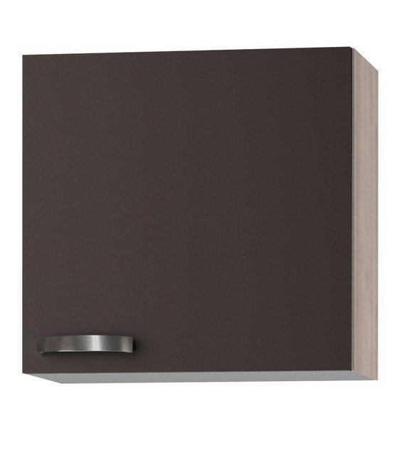 OPTIFIT Küchenhängeschrank »Skagen, Breite 60 cm« | Küche und Esszimmer > Küchenschränke > Küchen-Hängeschränke | Grau | OPTIFIT
