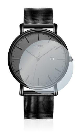 upscreen Schutzfolie »für Burei Watch Milanese VX32«, Folie Schutzfolie matt entspiegelt antibakteriell