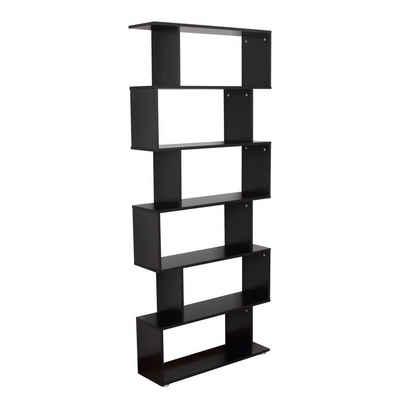HOMCOM Bücherregal »Bücherregal mit 6 Fächer«