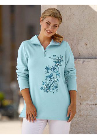 m. collection Sportinio stiliaus megztinis su platzi...