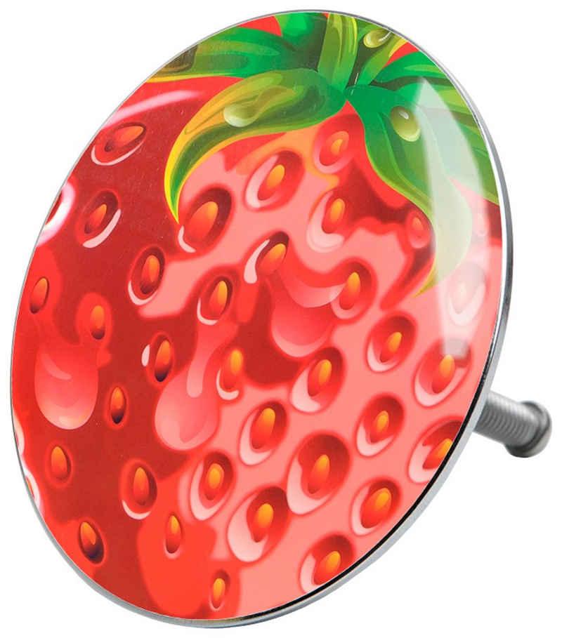 Sanilo Badewannenstöpsel »Strawberry«, Ø 7,2 cm