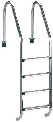 MyPool Poolleiter, 4-stufig, für 150 cm tiefe Becken