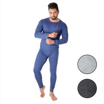 Black Snake Thermounterhemd »cushy« (1 Stück), Thermounterwäsche Set Unterhemd + Unterhose