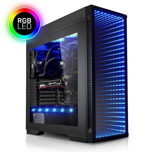 Kiebel Gaming-PC (Intel Core i7, RTX 2080, 16 GB RAM, 250 GB SSD, Luftkühlung)