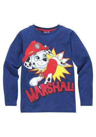 PAW PATROL Marškinėliai ilgomis rankovėmis »Marsh...