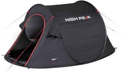 High Peak Wurfzelt »Pop up Zelt Vision 2«, Personen: 2 (mit Transporttasche)