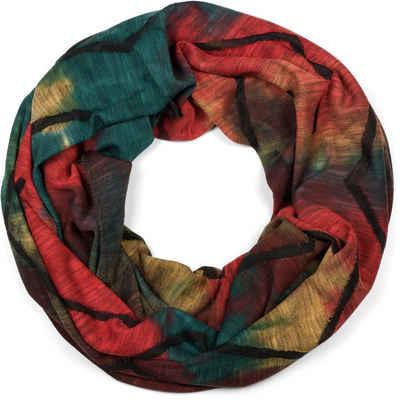 styleBREAKER Loop »Loop Schal Destroyed Batik Farbverlauf« Loop Schal Destroyed Batik Farbverlauf