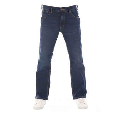 Wrangler Bootcut-Jeans »Jacksville« Jeanshose mit Stretchanteil