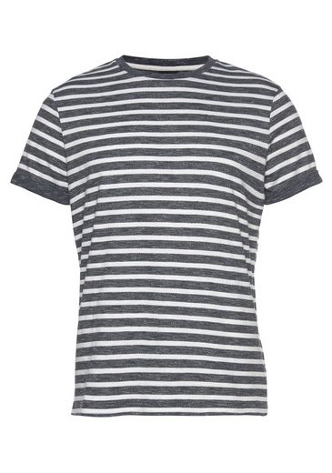 Joop Jeans T-Shirt mit Brusttasche und kurzem Ärmelaufschlag