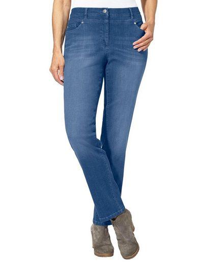 Casual Looks Jeans im dezenten Used-Look