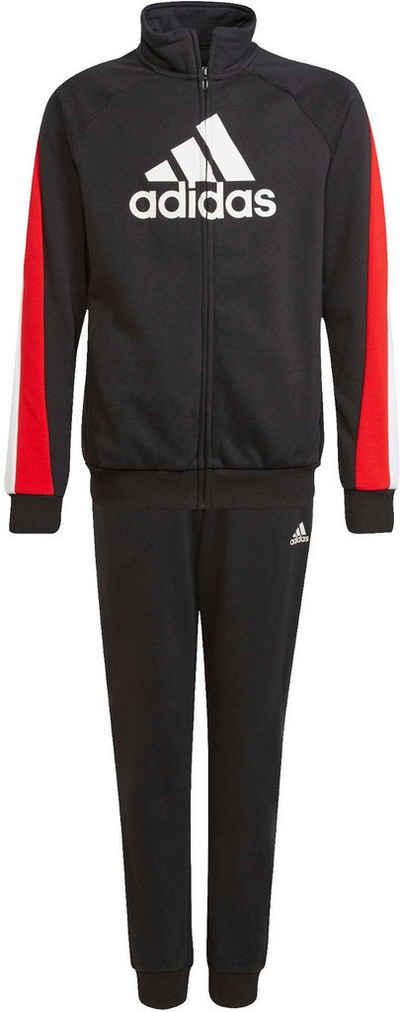 adidas Performance Trainingsanzug »BADGE OF SPORT COT TRACKSUITS JUNIOR MENS« (Set, 2-tlg)