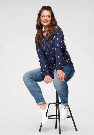 Großer Rabatt Flashlights Sweatshirt (Packung  2er-Pack) mit trendigem Print und Unifarben