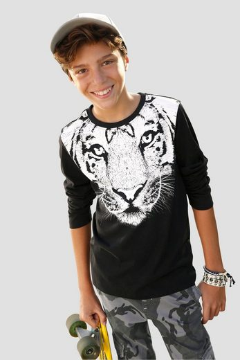 KIDSWORLD Langarmshirt »WHITE TIGER«