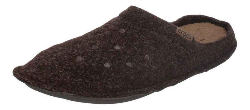 Crocs »Classic Slipper« Hausschuh Espresso Walnut