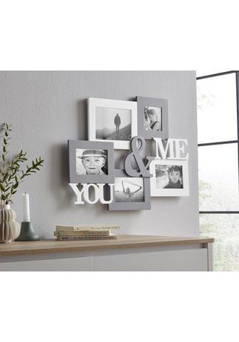 my home Bilderrahmen Collage »YOU & ME« Fotora...
