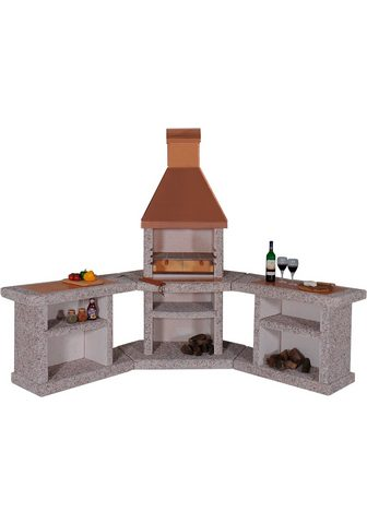 WELLFIRE Grillkamin »Außenküche Toskana« BxTxH:...