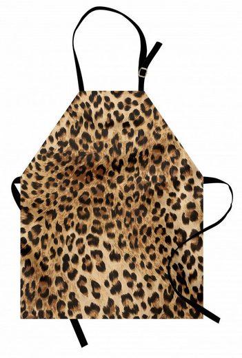 Abakuhaus Kochschürze »Höhenverstellbar Klare Farben ohne verblassen«, Leopard-Druck Wildtierhaut