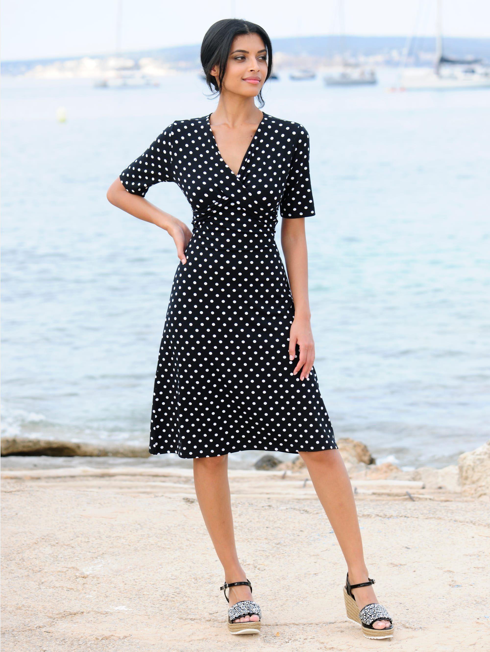 Alba Moda Strandkleid mit Drapierung online kaufen | OTTO