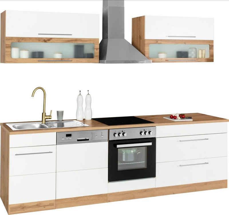 HELD MÖBEL Küchenzeile »Wien«, ohne E-Geräte, Breite 270 cm