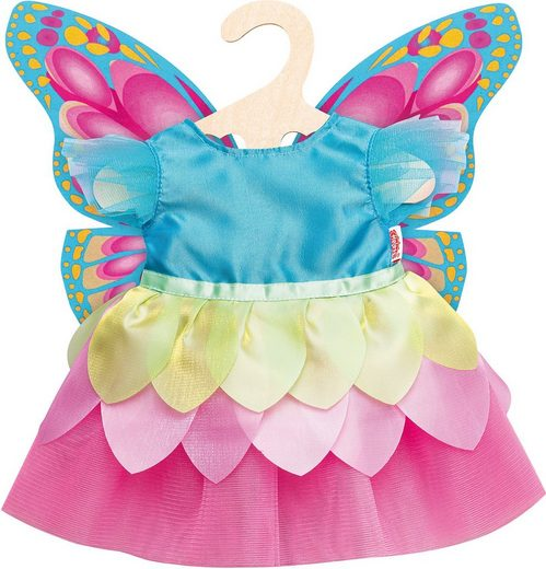 Heless Puppenkleidung »Puppen-Feenkleid Schmetterling, Gr. 35-45 cm«