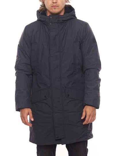 TOM TAILOR Winterjacke »Tom Tailor Schnee-Jacke warmhaltender Mantel für Herren mit zusätzlichen Taschen Winter-Jacke Blau«