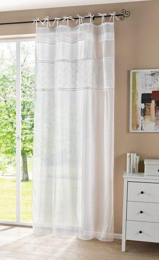 Vorhang »Cottage«, HomeLiving, Schlaufen