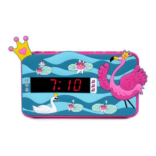 BigBen Radiowecker »Kids Wecker R15 - Princess, 3D-Dekor«