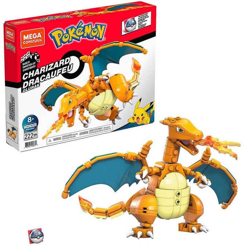 Mattel® Konstruktions-Spielset »Mega Construx Pokémon Glurak«