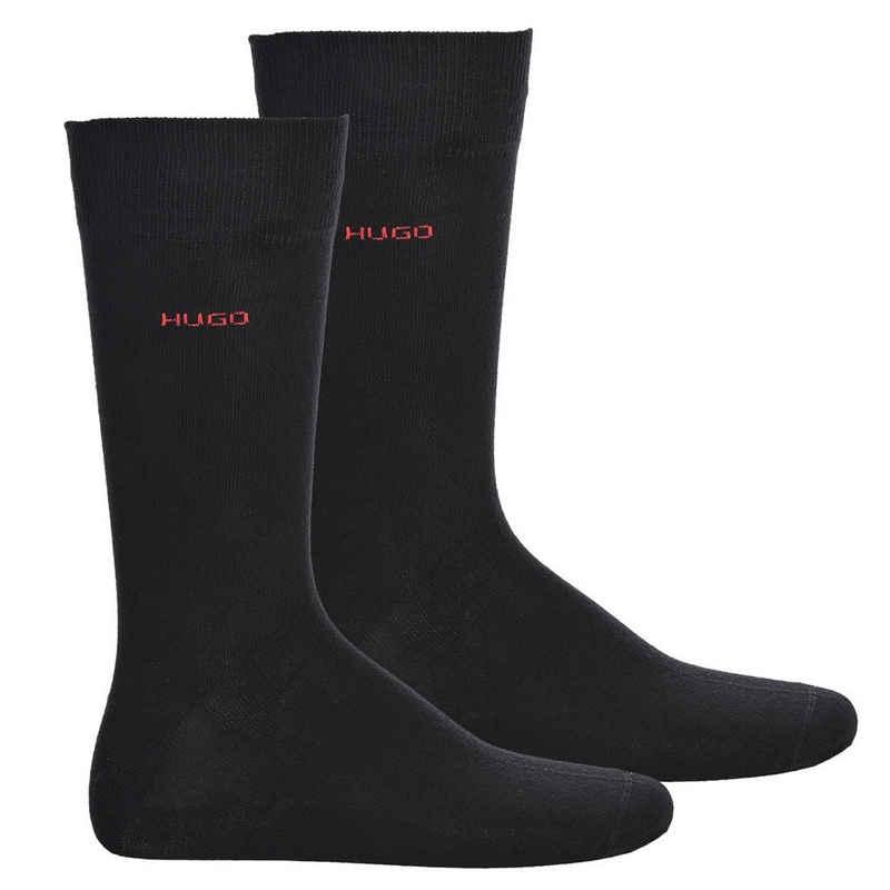 HUGO Kurzsocken »Herren Socken 2er Pack - RS Uni RS, Kurzsocken,«