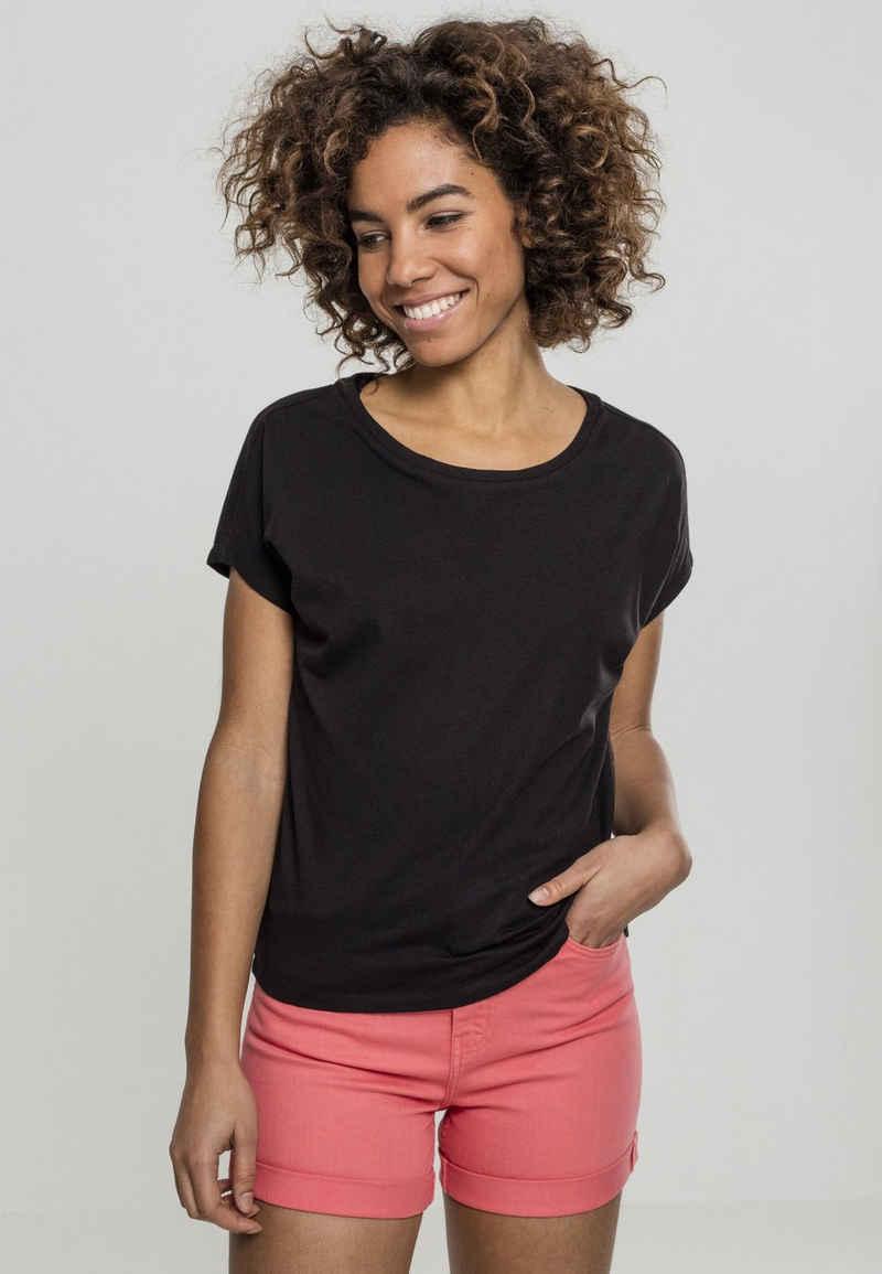 URBAN CLASSICS T-Shirt »Ladies Basic Drop Shoulder Tee«