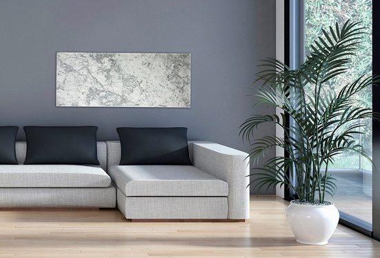 MARMONY Infrarotwandheizgerät »Carrara C780 MTC-40«, Carraramarmor, 800 W