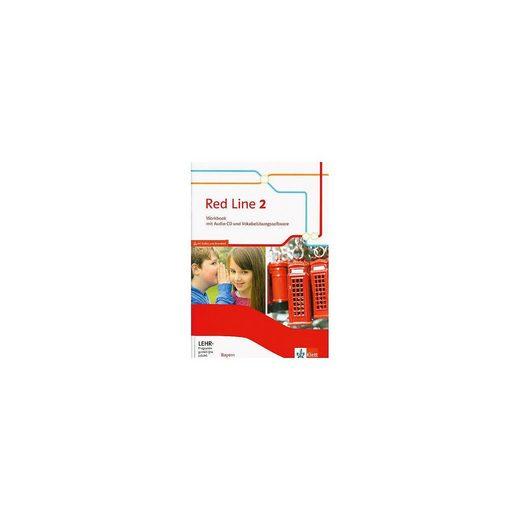 Klett Verlag Red Line, Ausgabe Bayern 2017: 6. Klasse, Workbook mit Audio