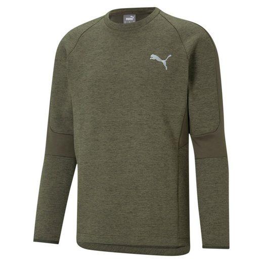 PUMA Sweater »Evostripe Herren Sweatshirt mit Rundhalsausschnitt«