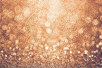 Architects Paper Fototapete »Atelier 47 Circle Graphic 1«, glatt, orientalisch, (4 St)