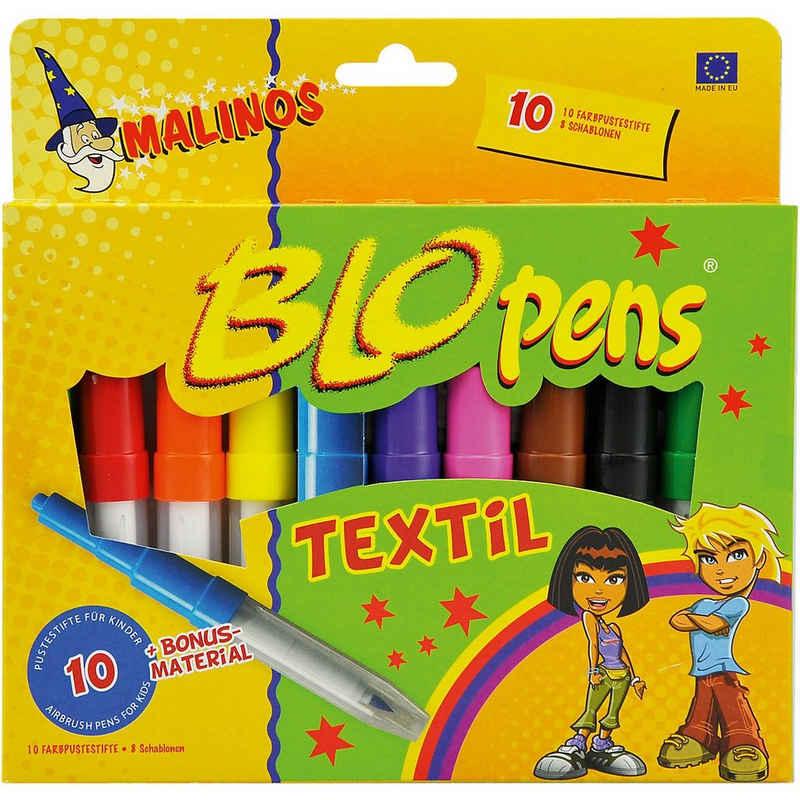 Amewi Dekorierstift »Malinos BloPens Textil, 10er«