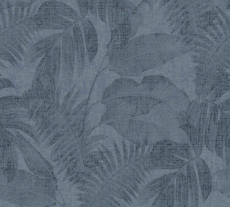 living walls Vliestapete »New Walls Cosy & Relax mit Palmenblättern«, strukturiert, floral