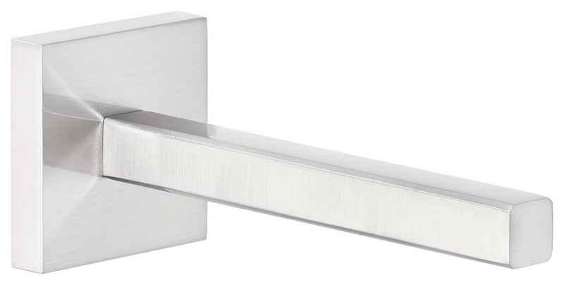 tesa Toiletten-Ersatzrollenhalter »DELUXXE Ersatzrollenhalter, Metall, verchromt« (1-St), Kein Bohren, Rostfrei