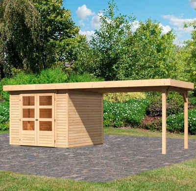 Karibu Gartenhaus »Arnis 3,5«, BxT: 529x262 cm, (Set)