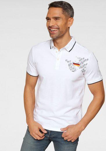 TOM TAILOR Poloshirt im EM-Design