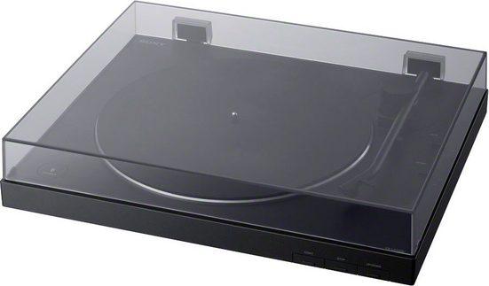 Sony »PS-LX310BT« Plattenspieler (Riemenantrieb, Bluetooth, Phono Vorverstärker, Auto-Play Funktion, Aluminium Plattenteller)