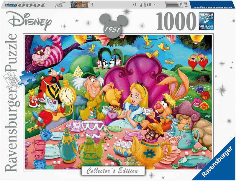 Ravensburger Puzzle »Alice im Wunderland«, 1000 Puzzleteile, FSC® - schützt Wald - weltweit; Made in Germany